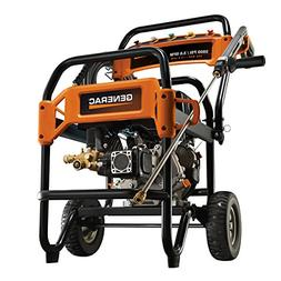 Generac 6564 3,800 PSI 3.6 GPM Commercial Gas Pressure Washe