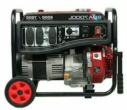 A-iPower 6000/7000 Watt Gasoline Portable Generator Gas Whee