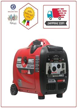 A-iPower Ultra-Quite 2300 W Inverter Generator with Mobility