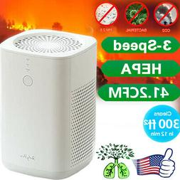 Air purifier Hepa Filter Ozone Remove Odor Cleaner Generator