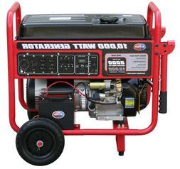 All Power 10,000 Watt Generator, Gas Portable w/ Electric FR