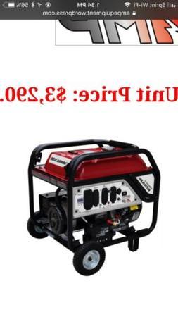 AMP® Kohler Series 10,000 Gas Generator brand new!