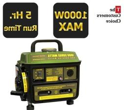 Best Portable Generator Oil Gas Mix Quiet Home RV Camping Po