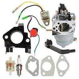 Buckbock Carburetor with Insulator Oil Sensor for Generac GP