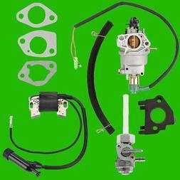 NorthStar Carburetor w/ Solenoid Petcock Coil 165603 165604