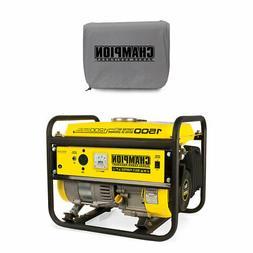 Champion 1200 Watt Portable Gas Generator w/ Vinyl Portable