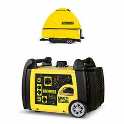 champion 3100 watt portable electric start generator