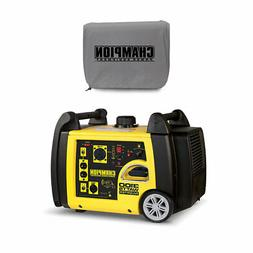Champion 3100 Watt Portable Wireless Start Generator w/ Viny