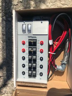 Reliance Controls Corporation 51410C Pro/Tran 10-Circuit Ind