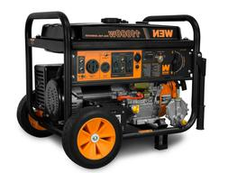 WEN DF1100T 11,000-Watt 120V/240V Dual Fuel Portable Generat