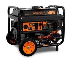 WEN DF475T 4750-Watt 120V/240V Dual Fuel Portable Generator