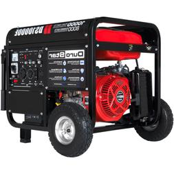 DuroStar 10000W Portable Gas Electric Start Generator Standb