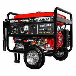 DuroStar DS5500EH 5500-Watt Electric Start Dual Fuel Hybrid