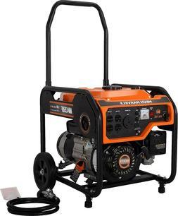 DUAL FUEL Portable Generator 4000 Watt RV Ready W/ Free 3 Wa
