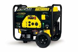 Dual Fuel RV Ready Portable Home Generator Power Generators
