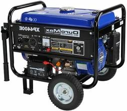 DuroMax XP4400E Electric Start 4,400 Watt Portable Gas Gener