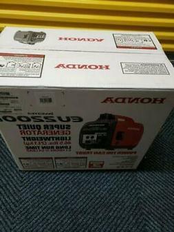 Honda Eu2000ia Companion Portable Generator. This Carb Compl