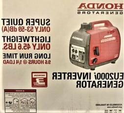 Honda EU2200i  Inverter Generator * Super Quiet * Lightweigh