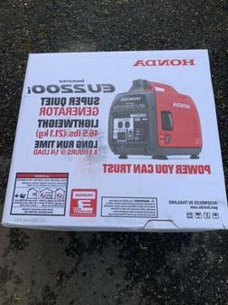 Honda Eu2200i portable generator 2200 I W watts Inverter qui