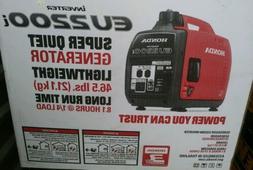 Honda EU2200i Super Quiet Portable INVERTER GENERATOR  NEW I