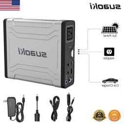 SUAOKI G1000 Portable Solar Generator Power Station for Camp