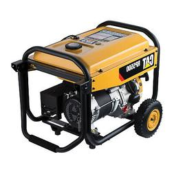 CAT Gas Portable Generator 490-6489 RP5500  5500 Running Wat