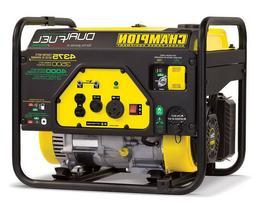 Gas Propane Power Generator Portable Dual Fuel Champion 3500