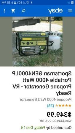 Sportsman GEN4000LP Portable 4000 Watt Propane Generator - R