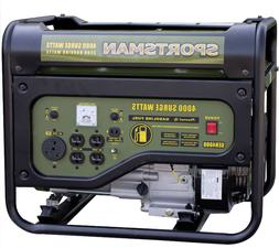 Generator 4000W, 3.6 gal. Gas Propane Camping Portable 4 Str