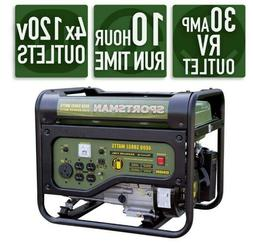 Sportsman Generator Portable Gas Powered with R/V outlet4,