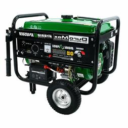DUROMAX GENERATOR PORTABLE POWER DUAL FUEL PROPANE GAS GASOL