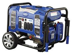 Ford 11050 watt gasoline portable generator with electric st