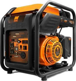 WEN GN400i RV-Ready 4000-Watt Open Frame Inverter Generator,