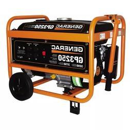 Generac GP3250 GP Series 3,250 W Portable Generator 5982 New