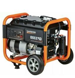 Generac GP3300 - 3,300 Watt Portable Generator, 50-ST/CARB,