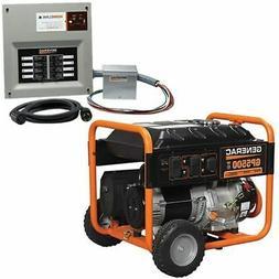 Generac GP5500 - 5500 Watt Portable Generator w/ Power Trans