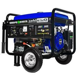 DuroMax Hybrid Dual Fuel XP4400EH 4,400-Watt Portable Genera