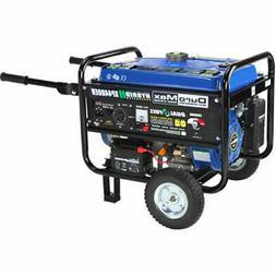 DuroMax Hybrid Propane or Gasoline Powered Portable Generato