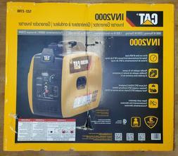 CAT INV2000 1800W Gas Powered Portable Inverter Quiet Run Ge