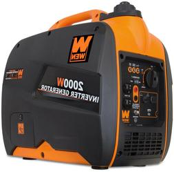 WEN Inverter Generator 2000W Gas-Powered CARB Compliant Engi