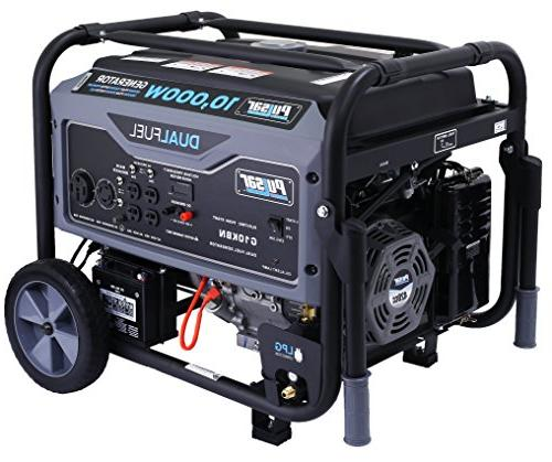 Pulsar G10KBN Space Gray 10,000 Generator with CARB Approved