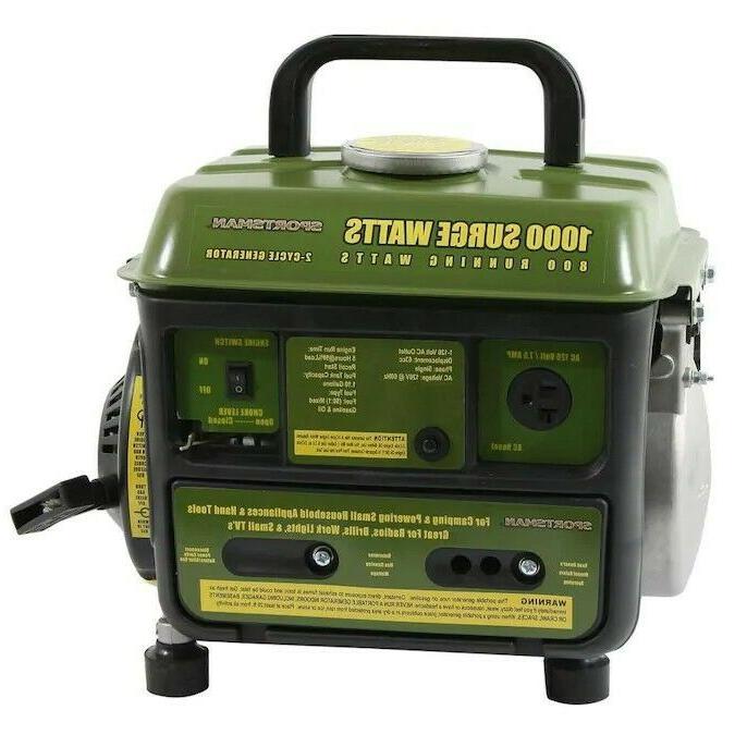 Sportsman 1000 Watt Gasoline Portable Generator with OEM E
