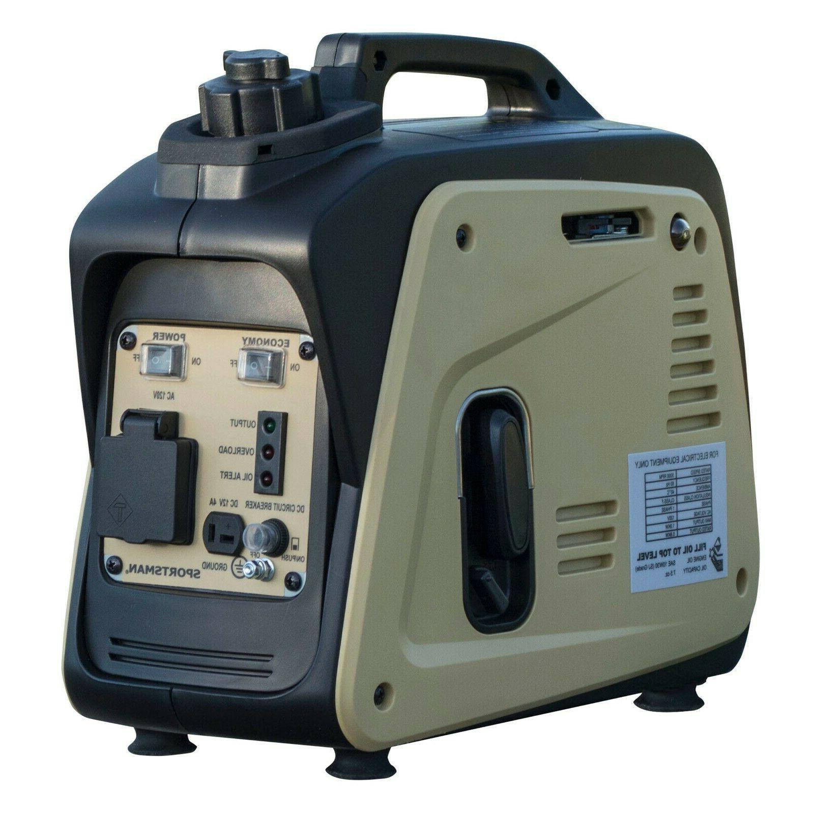 Sportsman 1000 Watt Inverter Generator Portable Gas Energy Q