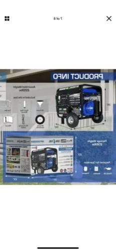 DuroMax 10000-Watt Gasoline/Propane Generator Pickup **