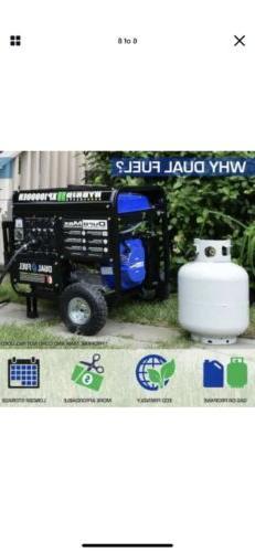 DuroMax 10000-Watt Gasoline/Propane Generator Pickup Only