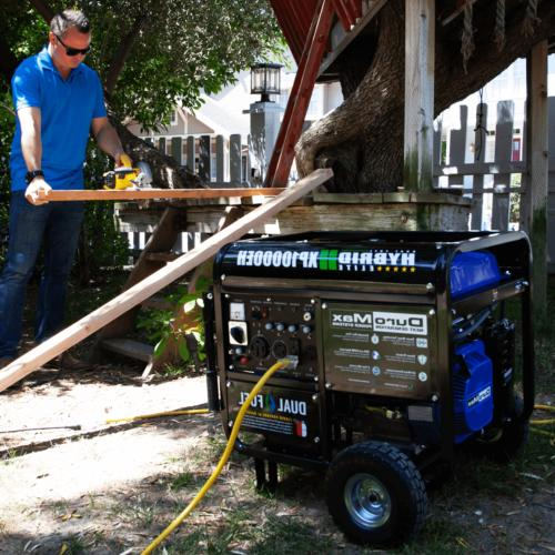 Duromax 10000 Watt Dual Fuel Electric Portable