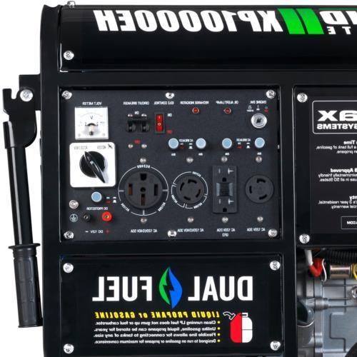 Duromax 10000 Dual Fuel Start, Portable Generator