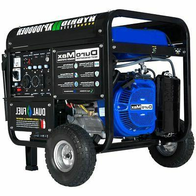 10000 watt hybrid dual fuel portable gas