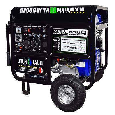 DuroMax 10000 Watt Hybrid Dual Portable Propane - Standby