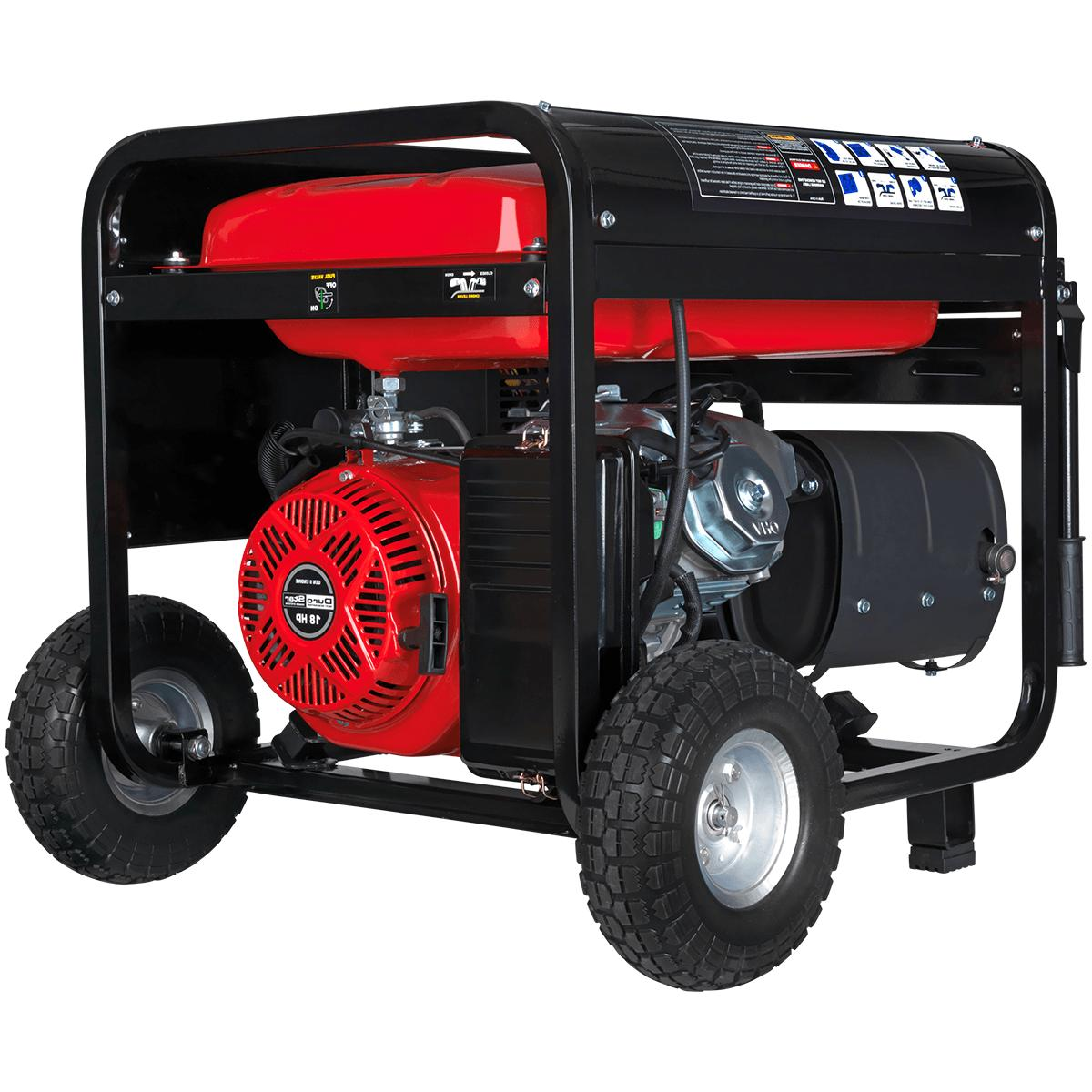 10000w portable gas electric start generator standby